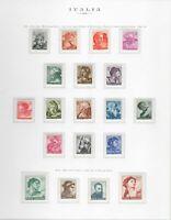 s25612) ITALIA MNH**1961 Complete Year set 36v Annata Completa 3 scans