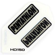 30 Pentathlon HD150 Slim Flights - Extra Stark 150 Micron - Weiß