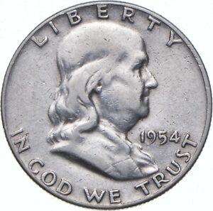 1954 Franklin Half Dollar - TC *397