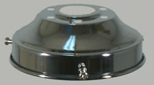 "NEW ART DECO SHADE LAMP GLASS GALLERY FITTER 4 1/4"" FITTING CHROME LIGHT PART"