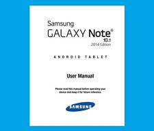 Samsung Galaxy Note 10.1 2014 Edition (model SM-P600) User Manual