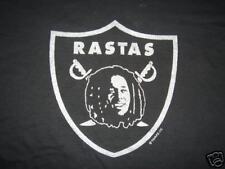 RASTA REGGAE DREAD IRIE SPORT TSHIRT L