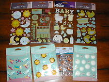 Scrapbook BABY BATH & BEDTIME Jolee STICKER Lot *50% OFF & FREE Ship in US