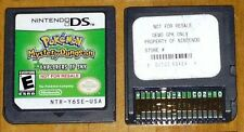 POKEMON: MYSTERY DUNGEON EXPLORERS SKY Nintendo ds *NOT FOR RESALE DEMO* nfr