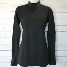 Tommie Copper Black Sprinter Long Sleeve Mock Neck Size Small