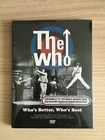 The Who _ Who's Better, Who's Best _ DVD _ 2006 Universal NUOVO SIGILLATO RARO