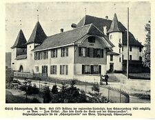 Schloß Schwarzenburg Kt.Bern Historische Aufnahme von 1908