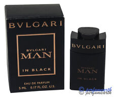 Bvlgari Man In Black By Bvlgari .17oz/5ml Edp Splash Mini For Men New In Box
