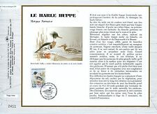 FEUILLET CEF / DOCUMENT PHILATELIQUE / LA HARLE HUPPE 1993 VILLARS LES DOMBES
