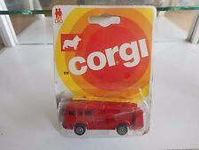 Corgi ERF Fire Tender in Red on Blister