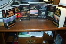 terry goodking  7 paperbacks  sword of truth series