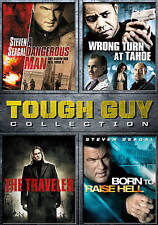 Tough Guy Collection 4 Movie DVD A Dangerous Man, The Traveler, Born to Raise