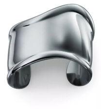 Tiffany & Co. Elsa Peretti Bone Small Cuff In Charcoal, Right Hand