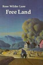 Free Land by Rose W. Lane, Rose Wilder Lane and Rose Lane (1984, Paperback,...