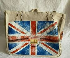 THURSDAY FRIDAY UNION FLAG JACK CANVAS TOTE BAG (bxe)