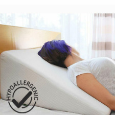 1xFoam Bed Wedge Acid Reflux Pillow Support Cover Pad Back Leg Elevation Cushion