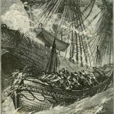 REMARKABLE SHIPWRECKS & DISASTERS AT SEA 19th and early 20th CENTURE.