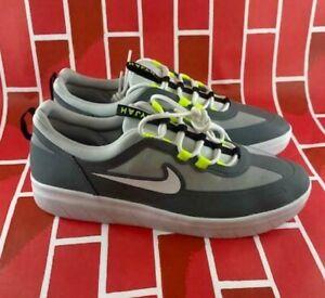 Men's Nike SB Nyjah Free 2 Huston Zoom Air Skateboard Shoes BV2078-003 Size 10.5