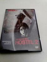 "DVD ""HOSTEL 2"" COMO NUEVO ELI ROTH GREGORY NICOTERO LAUREN GERMAN ROGER BART"