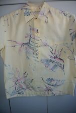 Cooke Street  Mens Large  Bird of Paradise Pullover on Reverse Yellow/Nice