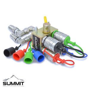 Manual Hydraulic Multiplier, SCV Splitter / Diverter Valve + Couplers & Fittings