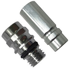 A/C Repair Service Valve High & Low Side R-134a Port Adapter OE Style Fittings