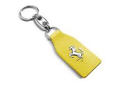 Genuine Ferrari Yellow Key fob Key Ring 458 488 California F430 360 70003778