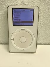 Apple iPod 2nd Generation White (10Gb) A1019(Touch Wheel) 1st iPod Rare Working
