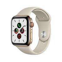 Apple Watch Gen 5 Series 5 Cell 40mm Gold Stainless Steel - Stone Sport Band
