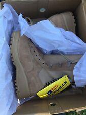 BRAND NEW - Belleville Desert Combat Boots TAN- Size  4XW
