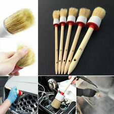 5x Cleaning Brush Cleaning Detailing Tools For Car Center Console Dashboard Trim