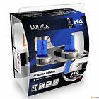 2x LUNEX H4 PLASMA XENON Bombillas halógenas Faros 12V P43t 5000K Hard Case