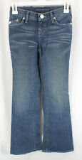 Rock Republic Alexa Jeans Denim Girls Size 10, 24 Flare Low Rise Sample 2008
