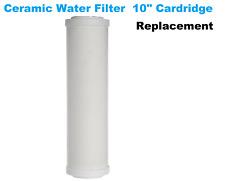"Ceramic Water Filter Element 10"" x 2.5"" Cartridge Replacement Aquati"