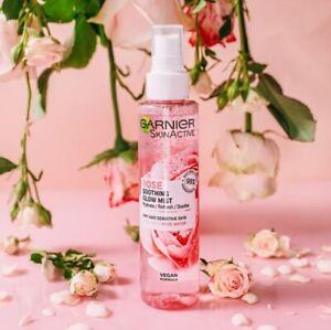 Garnier Skin Active Rose Soothing Glow Mist Hydrate, Refresh & Soothe 150ml