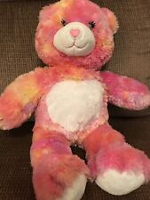 Pink and White Build Abear Plush