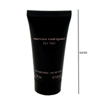 NARCISO RODRIGUEZ FOR HER BODY LOTION 30 ML/1 FL.OZ. MINIATURE TUBE