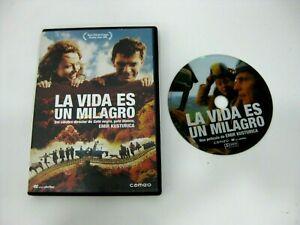 LA VIDA ES UN MILAGRO DVD SLAVKO STIMAC NATASA SOLAK VESNA TRIVALIC VUK KOSTIC