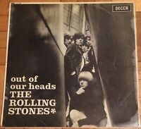 The Rolling Stone Out of Our Heads LP Record Vinyl Decca 1965 MONO LK.4733