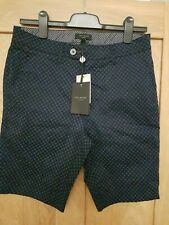 Genuine ted baker mens printed dress casual shorts 28/30/32/34 New Gents