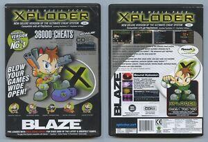 PLAYSTATION 2 PS2 BLAZE XPLODER VERSION 4 V4 LITE CHEAT SYSTEM FREE P&P