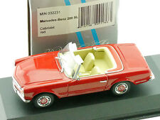 Minichamps 032231 Mercedes 280 SL W 113 Cabriolet rot 1/43 OVP 1601-16-89