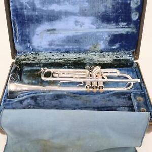 Bach Model 37 Stradivarius Professional Bb Trumpet SN 139058 EXCELLENT