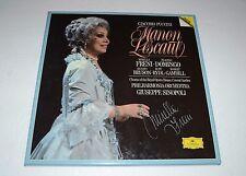 Puccini: Manon Lescaut~Sinopoli~SIGNED by Mirella Freni~German IMPORT~Inserts