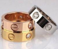 Love Ring Schraube Schraubenkopf Silber Gold Oder Roségold Gr.50 Gr.15,9