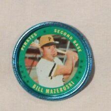 1971 Topps Coins #15 Bill Mazeroski Pirates