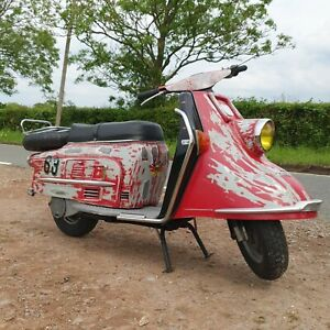 Heinkel Tourist  scooter. Classic  scooter.