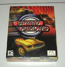 Gioco Pc Cd SPEED DEMONS - BOX nuovo ITA Microids Leader
