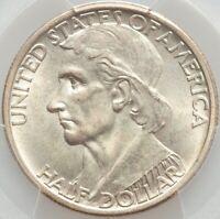 1935/34 Boone Commemorative Silver Half Dollar PCGS RARE GEM w/ EYE APPEAL MS66