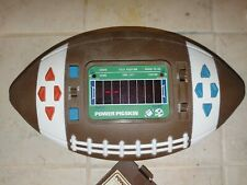 Vintage Power Pigskin Electronic Football Game Tested!